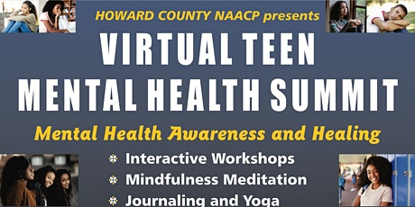 FREE ONLINE Teen Mental Health Summit- Pathways to Healing and Wellness tickets