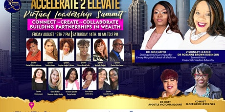 Accelerate to Elevate Virtual Leadership Summit tickets