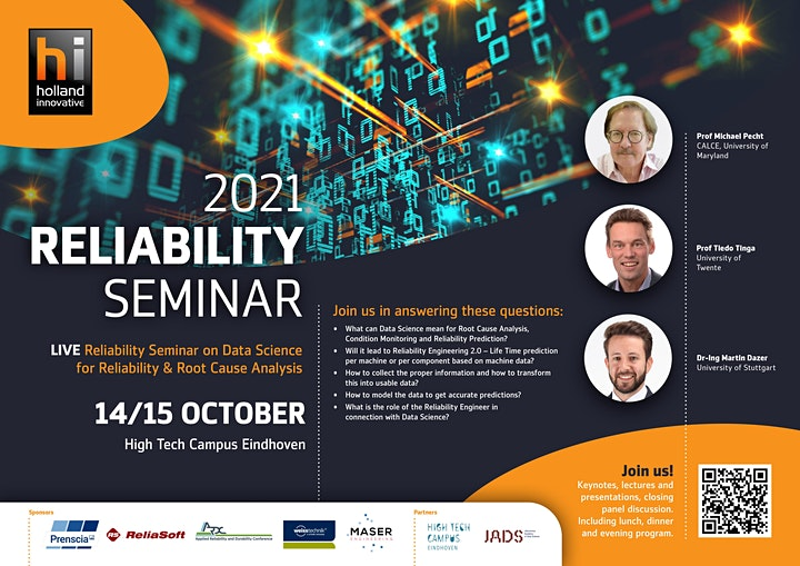 Data Science for Reliability and Root Cause Analysis - Live Seminar ! image