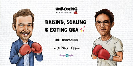 Start-up Raising, Scaling & Exiting Q&A boletos