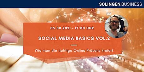 Social Media Basics Vol. 2 Tickets
