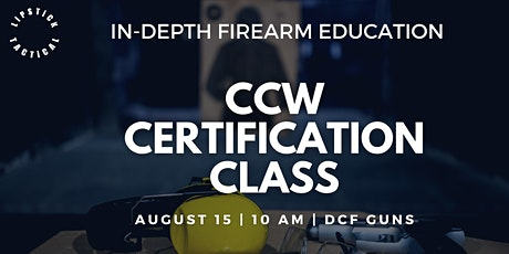 CCW Certification Class in Denver Colorado tickets