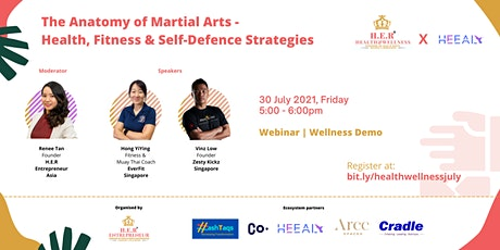 The Anatomy of Martial Arts- Health, Fitness and Self-Defense Strategies tickets