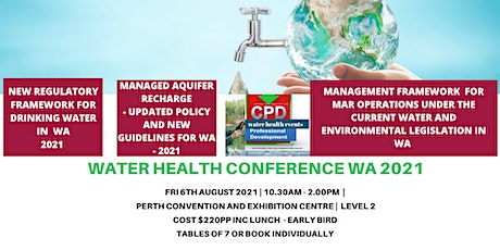 Water Health Conference 2021 tickets