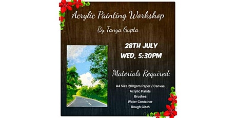 Free Acrylic Painting Workshop tickets