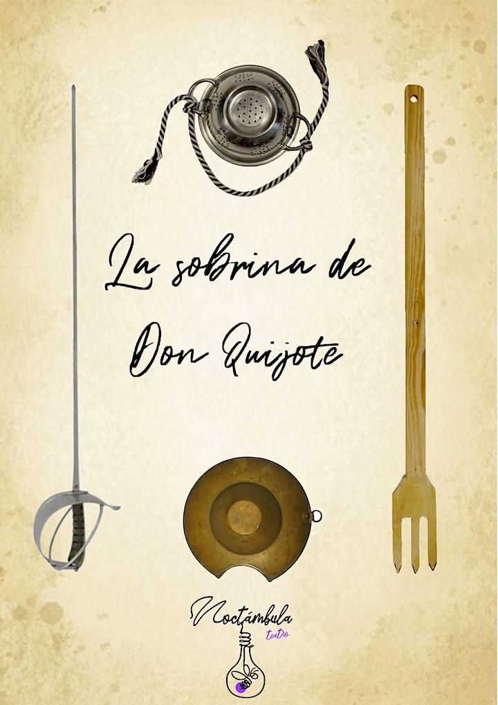 Imagen de Noctámbula Teatro LA SOBRINA DE DON QUIJOTE (MENUTSBARRIS) Teatro