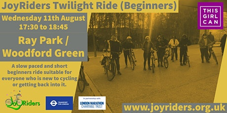Twilight Ride (Beginners) from Ray Park Woodford Green tickets