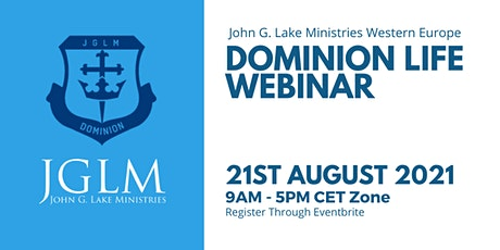 JGLM Dominion Life Webinar entradas