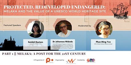 Webinar | Melaka and the Value of a UNESCO World Heritage Site tickets