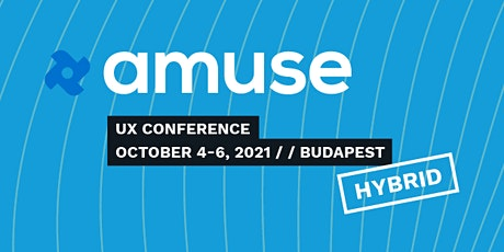Amuse UX and UI Conference tickets