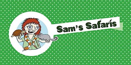 Sam's Safaris - Greenwood Library tickets