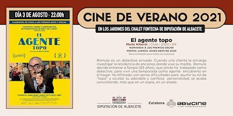 CINE DE VERANO Jardines Fontecha | El Agente Topo | Martes 3 agosto entradas