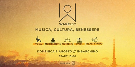 WAKE UP! Enjoy the morning energy! // Odaka yoga biglietti