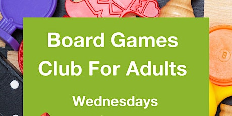 Board Games Club for Adults tickets