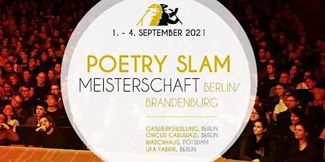 Poetry-Slam-Meisterschaft Berlin-Brandenburg - Vorrunde 3 Tickets