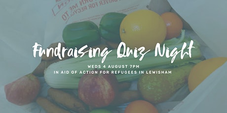 Quiz Night in aid of AFRIL (Action for Refugees in Lewisham) tickets