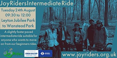 Women's Intermediate Bike Ride from Jubilee Park to Wanstead Park tickets