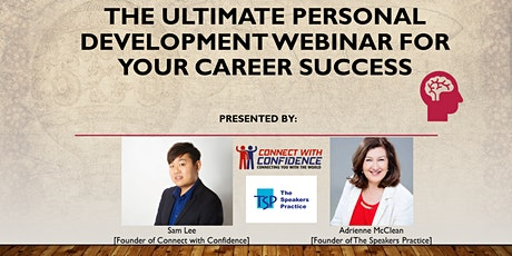 The Ultimate Personal Development Webinar for your Career Advancement tickets