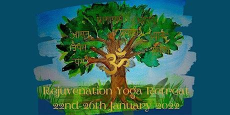 Rejuvenation Yoga Retreat: 8 limbs of Yoga tickets