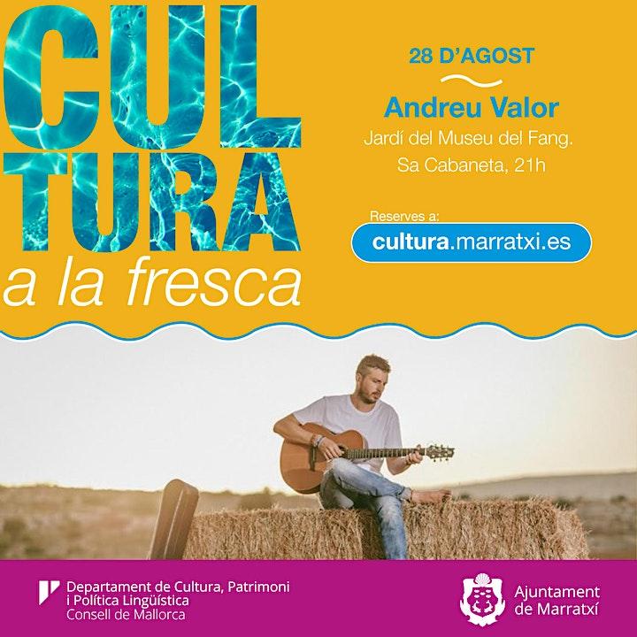Imagen de Andreu Valor - Cultura a la Fresca