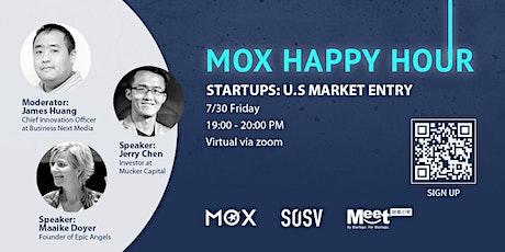 Startups: U.S Market Entry tickets