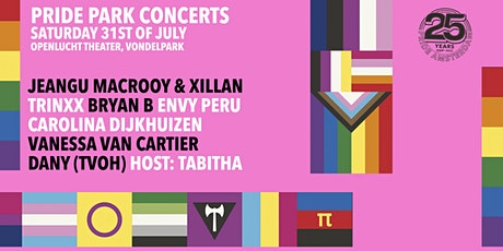 Pride Park Concerten | Sessie 2 : 19:00 - 21:00 (uitverkocht) tickets