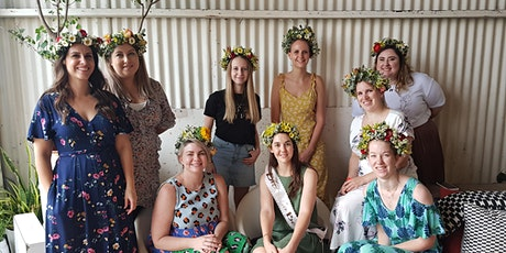 Flower Crown Making Workshop with Helena Rose  & The Deli by Hollie & Lola tickets
