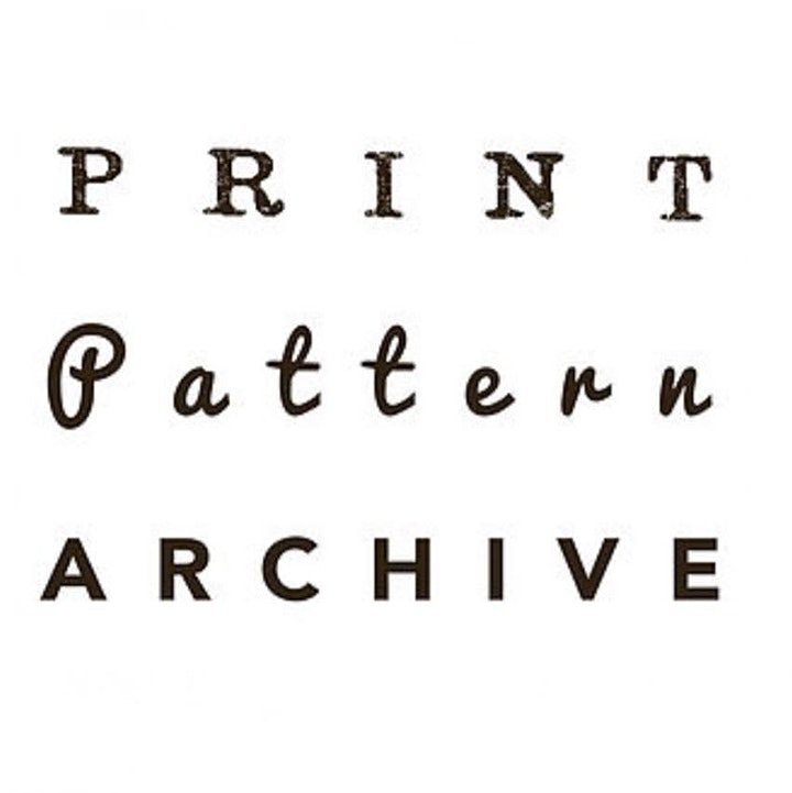 Print Pattern Archive: Exclusive access and talk with owner, Cheryl O'Meara image