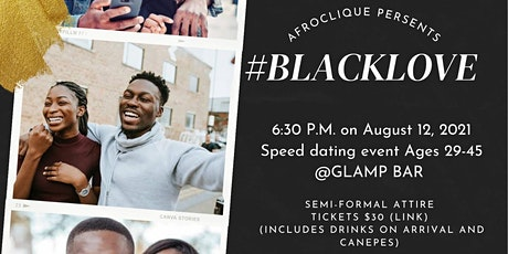 #BLACKLOVE Speed Dating Night tickets