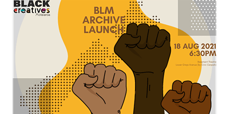 BLM Archive Launch tickets