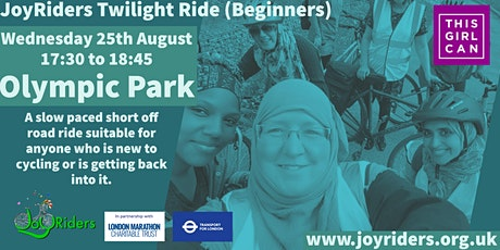 Twilight Ride (Beginners) starting at the Olympic Park tickets