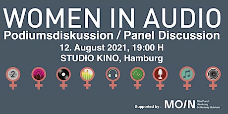 WOMEN IN AUDIO > Podiumsdiskussion / Panel Discussion Tickets