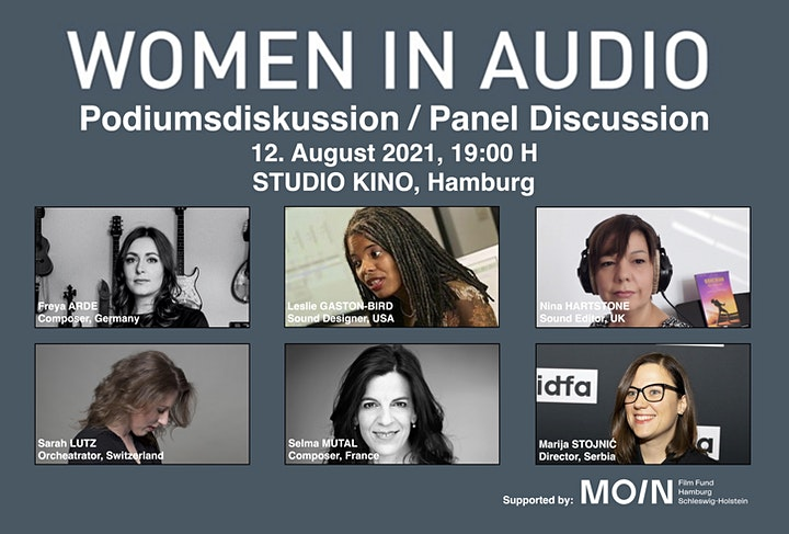WOMEN IN AUDIO > Podiumsdiskussion / Panel Discussion image