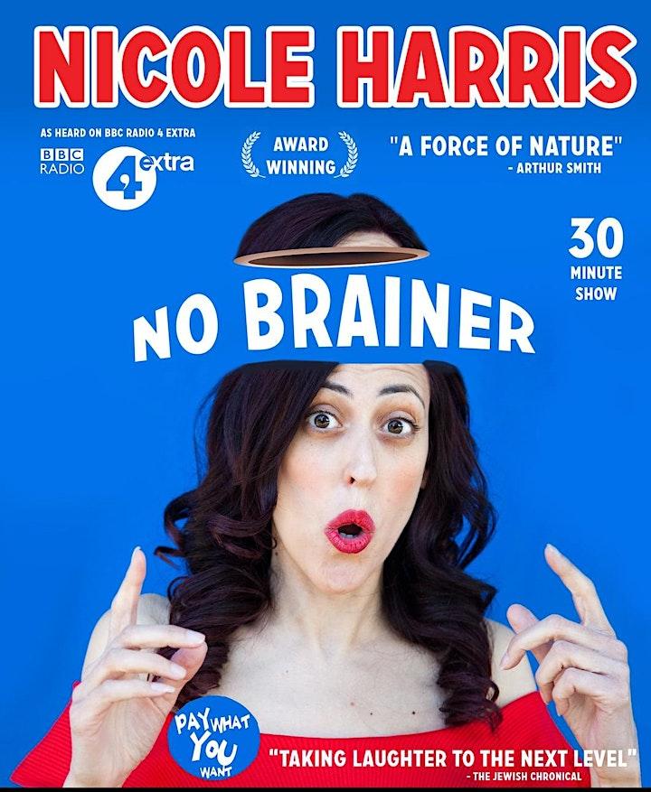 "Nicole Harris: ""No Brainer!"" image"