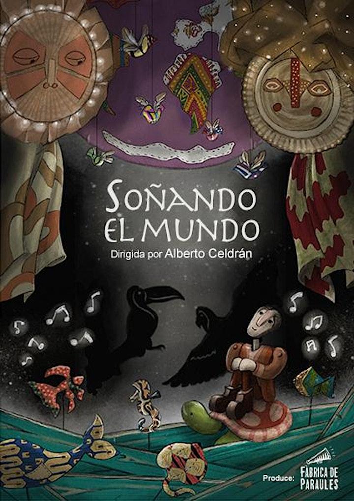 """Imagen de Fábrica de Paraules  """"SOÑANDO EL MUNDO""""(ANEM A LA BIBLIO)Teatro infantil"""
