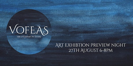 Vale of Evesham Art Society PREVIEW Evening tickets