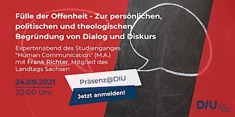 "Expertenabend des Studiengangs ""Human Communication"" (M.A.) Tickets"