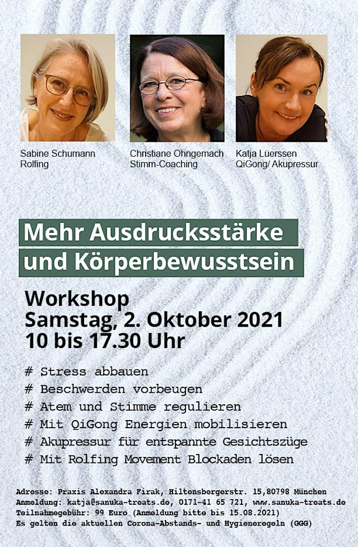 Tages-Workshop München: Mehr Ausdrucksstärke und Körperbewusstsein: Bild