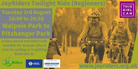 Beginners Bike Ride: Walpole Park to Pitzhanger Park tickets