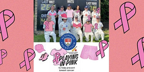 """""""Playing in Pink"""" lunch to help prevent breast cancer tickets"""