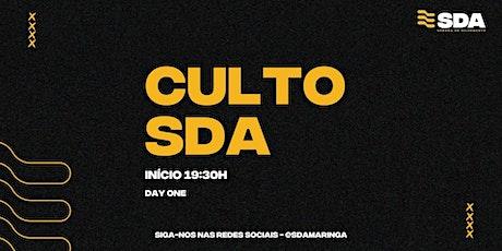 Culto SDA - DAY ONE (Quinta-Feira) ingressos