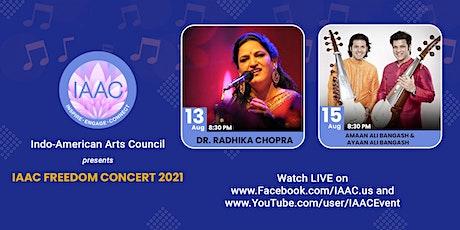 IAAC FREEDOM CONCERT 2021- Online Event tickets