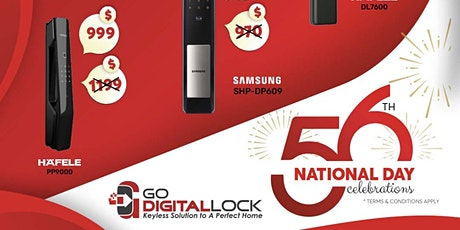 National Day Digital Lock Offer 2021 tickets