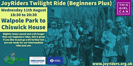 Beginner Plus Bike Ride: Walpole Park to Chiswick House tickets