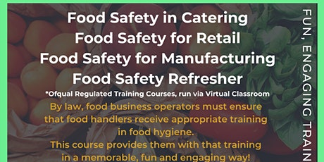 Level 2 Food Safety (Refresher) tickets