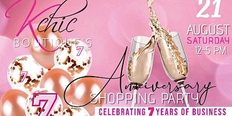 Kchic's 7 year anniversary• Networking, sip & shop tickets