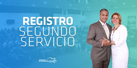 Segundo Servicio 11:30 | Domingo 1 de Agosto 2021 tickets