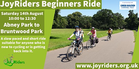 Beginners Ride:   Abney Park to Bruntwood Park tickets