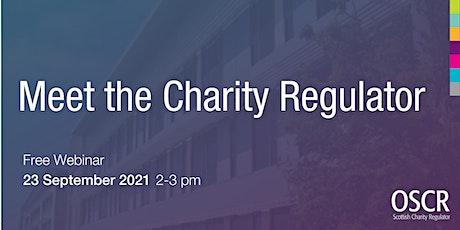 Meet the Charity Regulator 2021 tickets