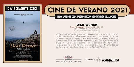 CINE DE VERANO Jardines Fontecha | Dear Werner | Jueves 19 agosto entradas